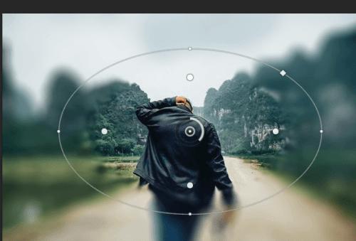 Cách Làm Mờ Ảnh Trong Photoshop Bằng Công Cụ Iris Blur