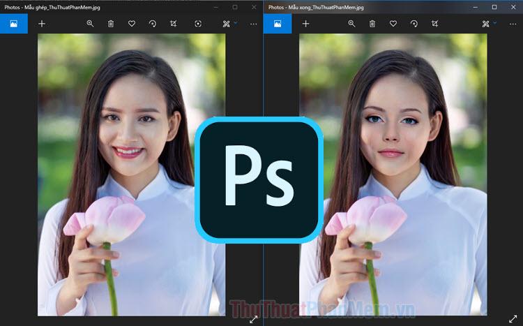 Cách Ghép Mặt Trong Photoshop